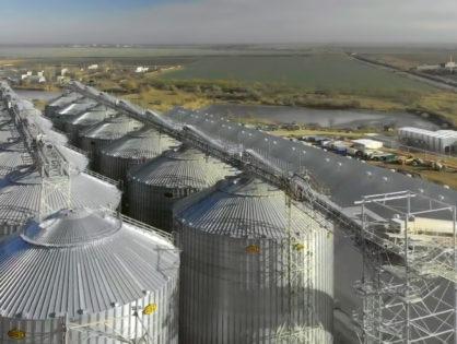 Металоконструкції для зернового терміналу